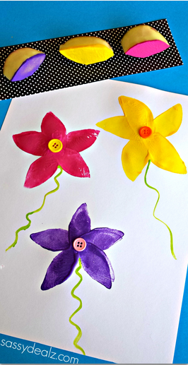 potato-flower-stamping-craft