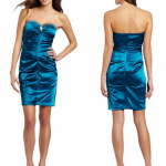 Slim Satin Teal Prom Dress Just $21.80 (Reg $109!)
