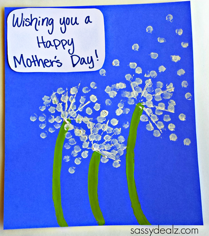 q-tip-dandelion-mothers-day-craft