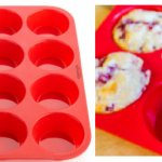 Red Nonstick Silicone Muffin/Cupcake Pan Only $8.97 (Reg $17)