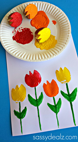tulip-craft-using-potatoes