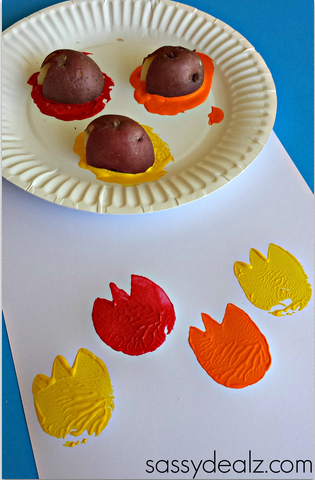 tulip-potato-printing-craft