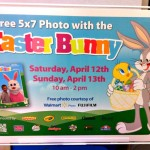 Walmart: Free 5×7 Photo w/ the Easter Bunny (4/12-4/13)