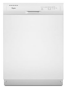 Sears: White/Black Energy Star Whirlpool 24″ Dishwasher Only $267