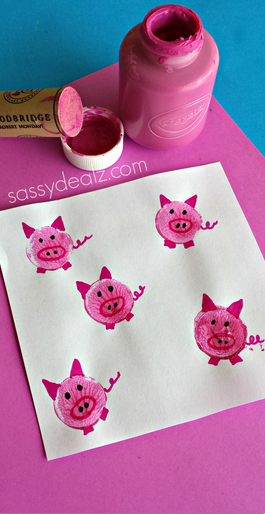 wine-cork-pigs-craft-for-kids