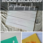 Cheap DIY Photography Backdrop: Wood Boards