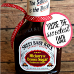 """You're The Sweetest"" BBQ Sauce Father's Day Gift Idea"
