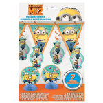7 Piece Despicable Me Decoration Kit Only $5.99 + Free Shipping