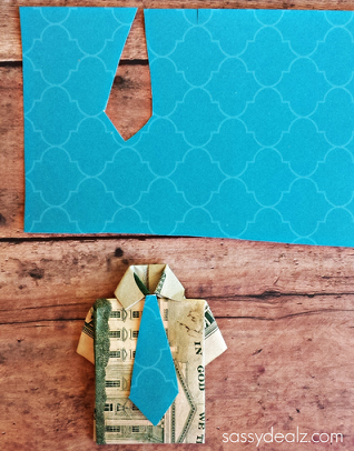 Dollar Bill Origami- Shirt and Tie : 15 Steps (with Pictures ... | 406x318