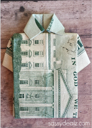 Dollar Bill Origami- Shirt and Tie : 15 Steps (with Pictures ... | 440x317