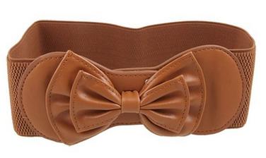 elastic-bow-belt