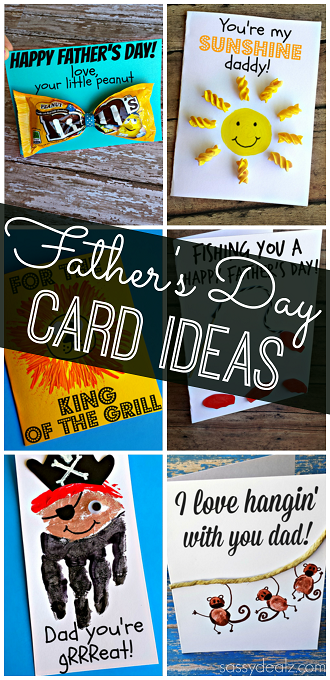 Creative Father S Day Cards For Kids To Make Crafty Morning