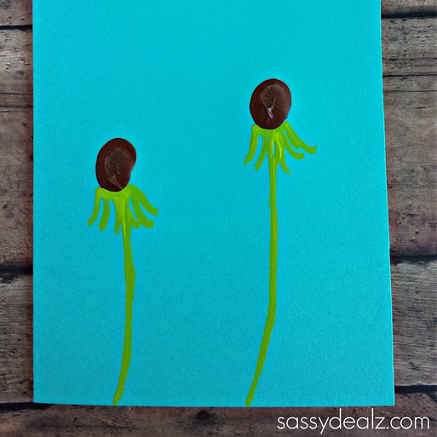 fingerprint-dandelion-craft