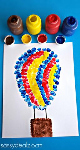 fingerprint-hot-air-balloon-craft