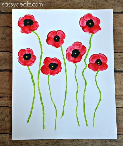 fingerprint-poppy-flower-craft
