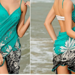 Women's Floral Swimsuit Cover Up Dress Only $8.99 Shipped