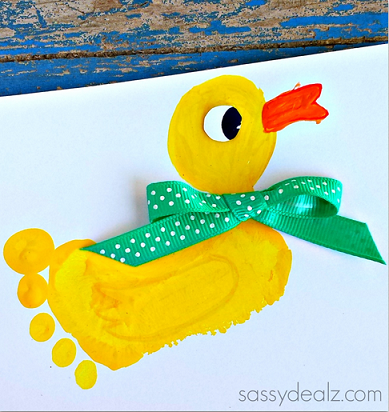 footprint-duck-craft-for-kids-
