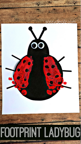 footprint-ladybug-craft-for-kids