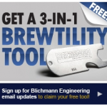 Free BrewTility Kit (Screwdriver, Wrench, Bottle Opener…)