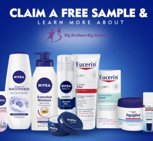 Free Sample of Aquaphor, Nivea or Eucerin Products