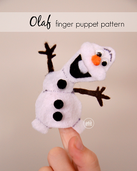 frozen-olaf-finger-puppet