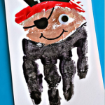 Handprint Pirate Craft for Kids (Card Idea)