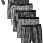 5 Pack of Men's Hanes Boxers Only $14.99 + Free Shipping