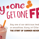 Jamba Juice Coupon: Buy One Smoothie or Juice, Get One Free (Exp 5/26)