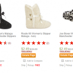 Kmart: Women's Slippers ONLY $2.49! (Reg $16.99)