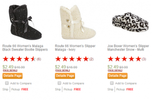 Kmart: Women's Slippers ONLY $2.49! (Reg $16.99)