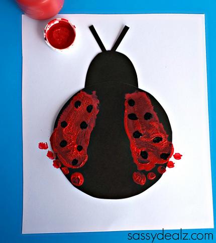 ladybug-footprint-crafts