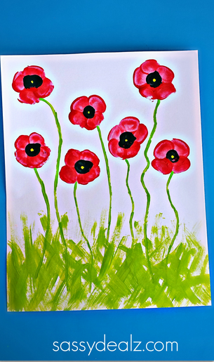poppy-fingerprint-craft-for-kids