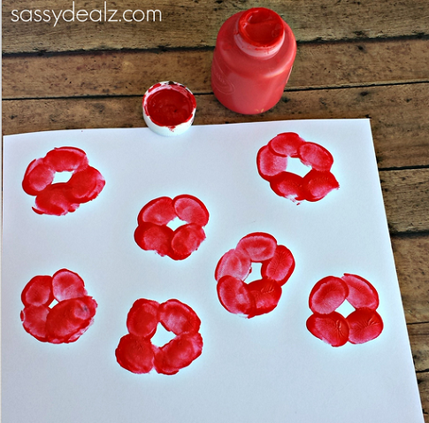 poppy-flower-fingerprint-craft