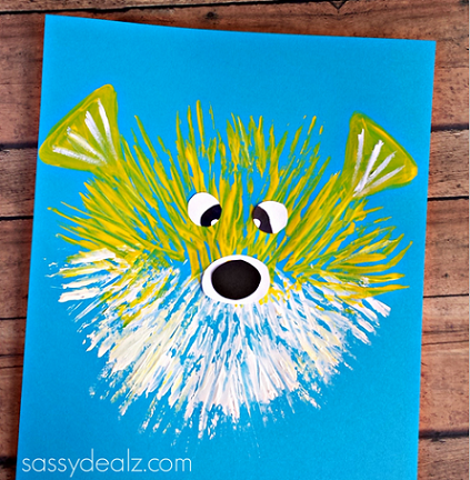 puffer-fish-kids-craft-using-a-fork