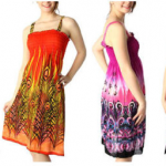 4 Floral Scroll Print Sundresses Just $14.99 Shipped