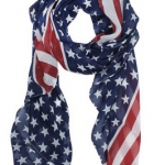 Women's American Flag Scarf Only $3.19 Shipped