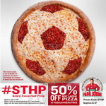 Papa John's Promo Code: Get 50% Off Any Large Pizza (6/17 Only!)