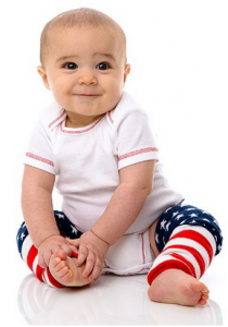 American Flag Leg Warmers for Baby & Toddlers Only $7.50