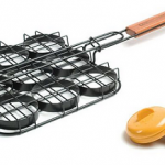 Charcoal Companion Mini Burger Grill Basket Just $1.99 (Reg $25)