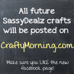 Crafts Will Now ONLY Be Posted on CraftyMorning.com!