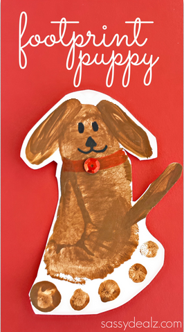 footprint-puppy-dog-craft-for-kids-