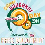 Free Doughnut on June 6th (Krispy Kreme & Dunkin' Donuts)