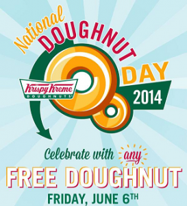 Free Doughnut on June 6th (Krispy Kreme & Dunkin' Donuts)