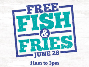 Long John Silver's: FREE Fish & Fries (June 28th 11am-3pm)