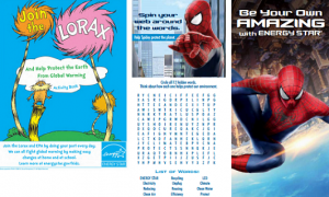 Free Lorax and Spiderman Activity Books for Kids