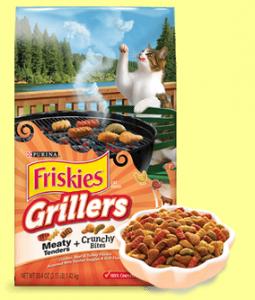 Free Bag of Friskies Grillers Cat Food (Coupon)