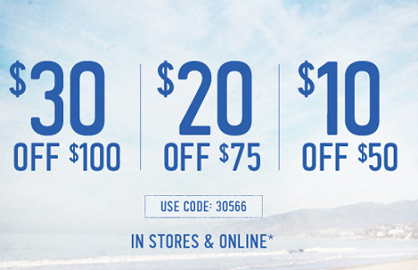 photograph about Hollister Printable Coupon identified as Uncommon Hollister Coupon Promo Codes (Legitimate June 28th-30th