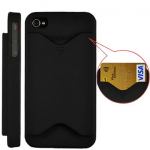 iPhone 4 Case with a Credit Card Holder Only $1.98 Shipped