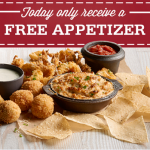 Joe's Crab Shack Coupon: Get a FREE Appetizer (Today Only!)