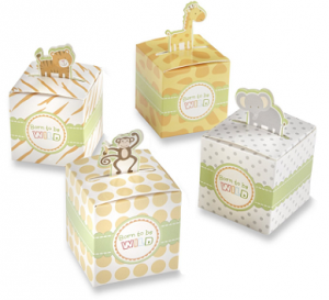 24 Jungle Theme Baby Shower Favor Boxes Only $10.95 Shipped